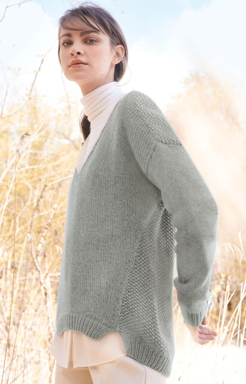 Fb Seventyfive Lana Grossa Wolle Kreativ 1 rohweiß 25 g
