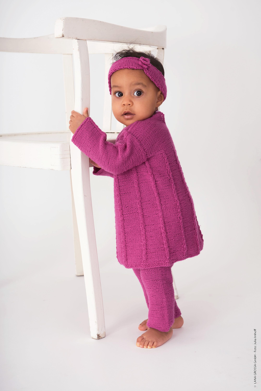 Wolle Kreativ Lana Grossa Cool Wool Baby 258 mauve 50 g Fb