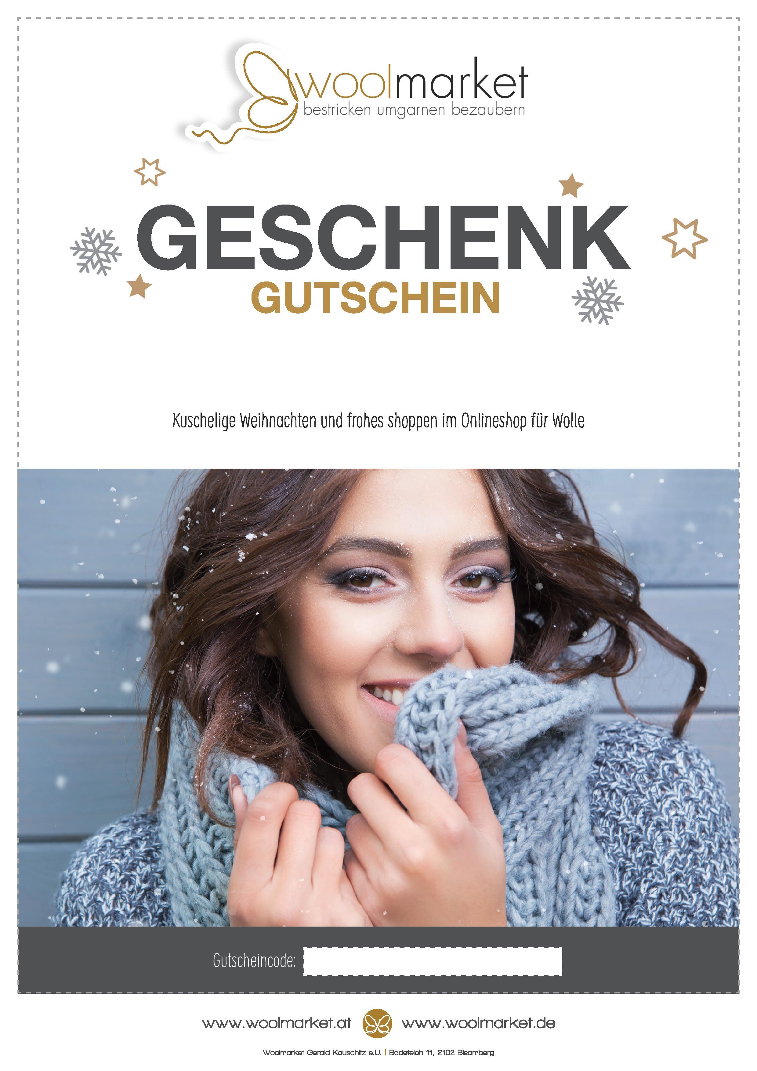 Weihnachtsgeschenk Gutscheine über 10,00 Euro